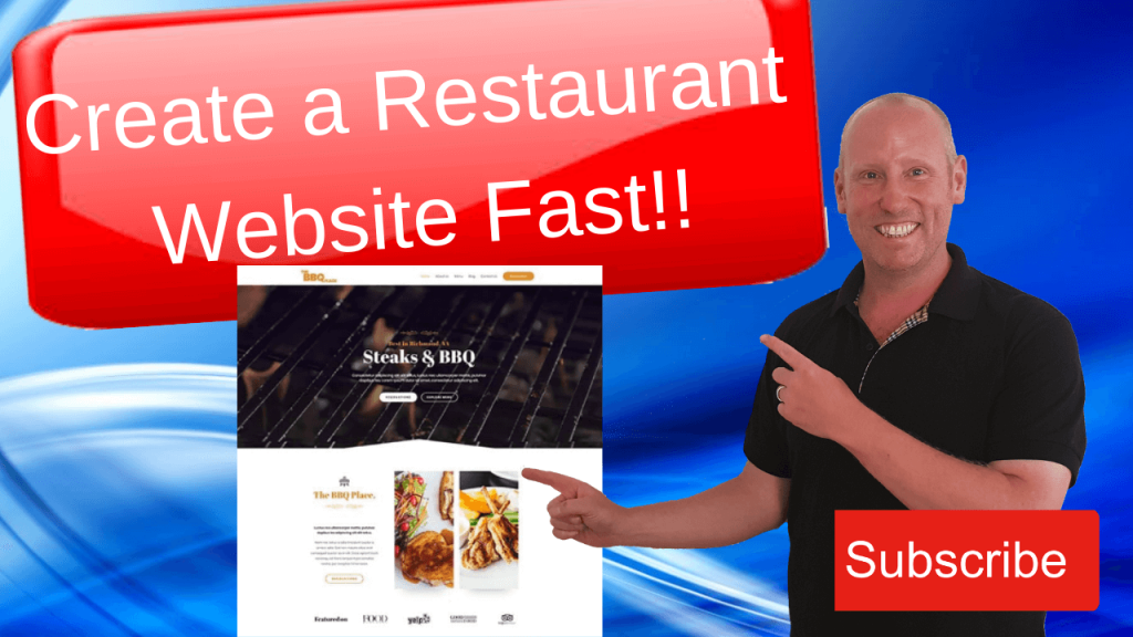 Build A Restaurant Website In Wordpress FastFast!! (1)