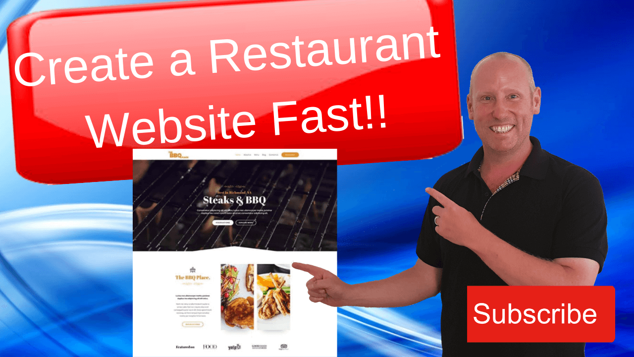 Build A Restaurant Website In WordPress FastFast!! (1)