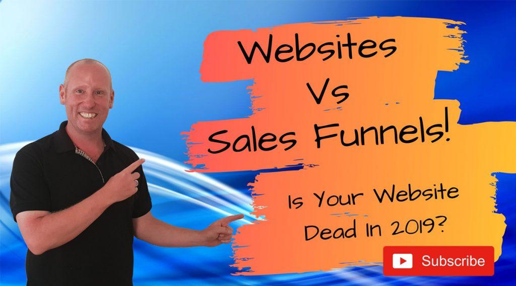 Websites versus Sales Funnels