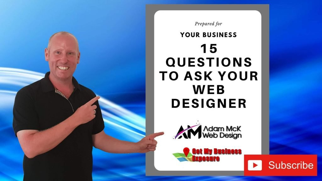 The 15 Questions To Ask Your Web Designer