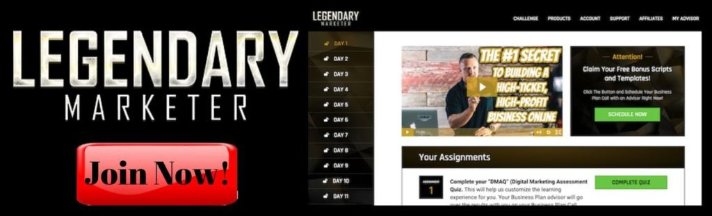 Company Website Legendary Marketer Internet Marketing Program