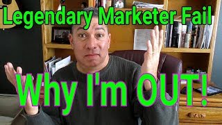 Legendary Marketer ... Good luck! Why it's not for newbies!